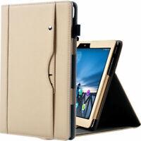 Schutzhülle für Lenovo Tab M10 TB-X605F TB-X605L Tasche Case Leder-Optik Cover