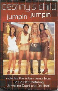 Destiny's Child Jumpin' Jumpin' CASSETTE SINGLE Electronic Hip Hop RnB/Swing
