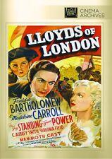 Lloyds of London DVD (1936) - Tyrone Power, Madeleine Carroll, Henry King