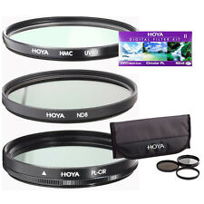 Hoya HK-DG62 II 62mm Filters w/ UV Circular Polarizer ND8x. Authorized Dealer