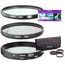 Hoya HK-DG58 II 58mm Filters w/ UV Circular Polarizer ND8x. Authorized Dealer