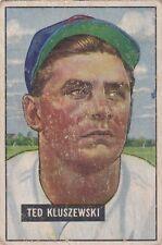 1951 Bowman TED KLUSZEWSKI CHECK IT OUT BLOWOUT SALE