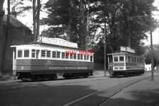 PHOTO  1962 SNAEFELL CARS AT LAXEY TRAM CARS 2 AND 5 ARE SEEN AT LAXEY AWAITING