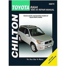 Chilton Repair Manual Toyota RAV4, 1996-05