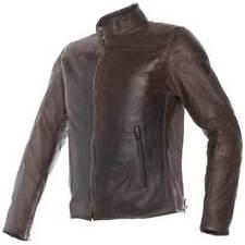 Blousons marrons pour motocyclette Eté