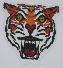 Monstrous Tiger: Sequin Patch (M379)