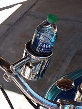 Motorcycle Cup Holder Chrome Handlebar Drink Bottle Holder For Harley