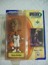 Vince Carter Series One Play Makers Bobble Head Upper Deck Collectible NM in Box