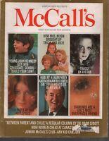 McCall's Magazine March 1969 John F Kennedy JFK  Twiggy Nixon 093019AME2