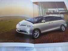 New listing Toyota Estima Dba Gsr/Acr50W Brochure Catalog Japan free shipping