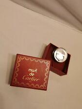 Cartier Sterling Silver pill/Jewelery box