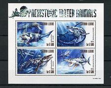 Sierra Leone 2015 MNH Prehistoric Water Animals 4v M/S Marine Dinichthys