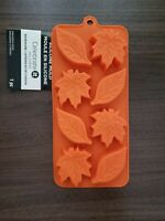 Fall Leaves 8 Cavity Silicone Baking Chocolate Candy Making Ice Mold