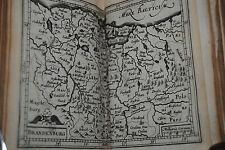 Bertius – Comm. Rerum germanicarum – 1634 – Mit 16 (st. 17) Kupferkarten