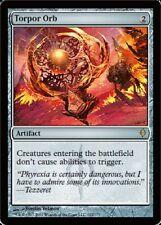 Torpor Orb MTG New Phyrexia Light Play, English X1