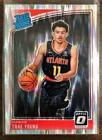 2018-19 Panini Donruss Optic Trae Young Shock Rated Rookie