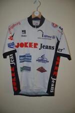 RETRO JOKER JEANS WHITE CYCLING SHORT SLEEVE JERSEY MENS SIZE 4