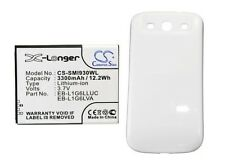 Battery For SAMSUNG Galaxy S3, SIII, GT-I9300, GT-I9308, SGH-T999V (3300mAh)