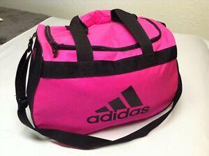 adidas HOT Pink/Black Medium Duffle Bag