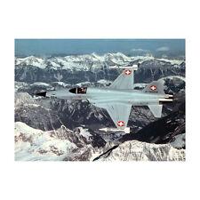 Suizo Aire Fuerza - F-5 Tigre - Avión Tarjeta Postal - Bueno Calidad
