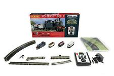 Hornby R1125 Somerset Belle 00 Gauge DCC Electric Train Set 4 Carriages Oval