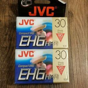 JVC 30 EHG Hi-FiCompact VHS-C Model# TC-30EHGDU Twin Pack 90 Min