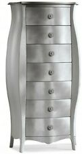 Chest of Drawers 1371 Rounded Gold Classic, Silver