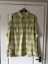 Ted Baker Size 4 Yellow Check Long Sleeved Shirt Excellent Condition Xmas