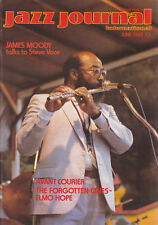 JAZZ JOURNAL MAGAZINE 1983 JUN JAMES MOODY, ELMO HOPE, RICKY FORD, KAI WINDING