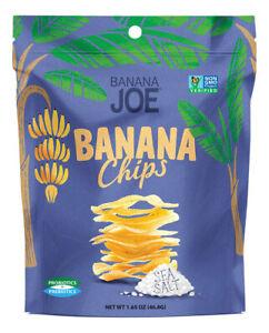 Banana Joe Sea Salt Crispy Banana Chips (6x47g)