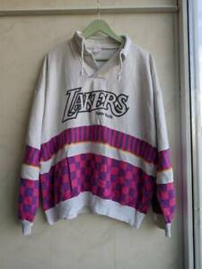 Vintage Lakers New York Rare Pullover