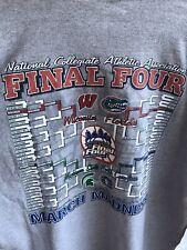 Vintage Ncaa 2000 Final Four Basketball Merch T Shirt L/S Indianapolis Size 2Xl