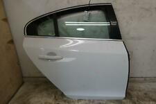 2011 - 2018 VOLVO S60 RIGHT REAR DOOR SHELL (ICE WHITE 614) OEM