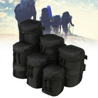 Portable Waterproof Lens Pouch Bag Protective Case For Standard Zoom Lenses