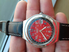 Swatch VINTAGE COLLECTION(1997)YGS408 Happy Joe Red watch IRONY BIG MONTRE RELOJ