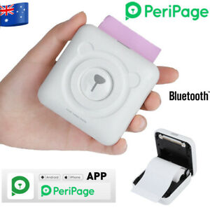 Peripage A6 Bluetooth pocket photo printer instant printer for Phone APP on