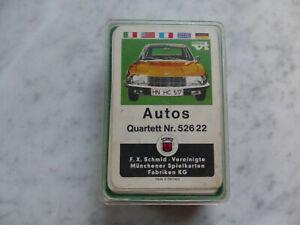 Quartett Autos FX Schmid 52622