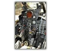 "War F4 Phantom pilots cockpit US Army Photo Glossy ""4 x 6"" inch B"