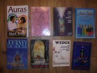 8 BOOK LOT Aura Energy Journey of Souls Bioenergy Color New Age Enlightenment