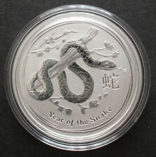 1 x 2013 Australian Lunar Year of the Snake 1/2 oz .999 Solid Silver Coin  1/188