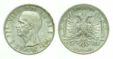 pci0181) ALBANIA REGNO D'ITALIA VITT. EMAN. III 5 LEK 1939 XVII ROMA