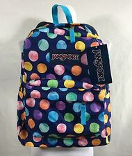 JANSPORT Superbreak Sac à dos bleu Multiple Aquarelle à pois