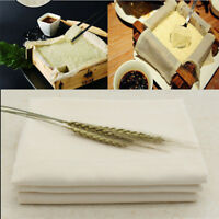 Tofu Maker Gauze Filter Cotton Cheese Cloth Soy DIY Mould Kitchen Tool 43x43cm