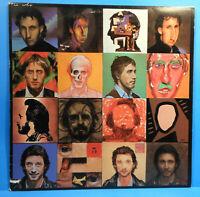 THE WHO FACE DANCES LP 1981 ORIGINAL PRESS POSTER GREAT CONDITION! VG+/VG+!!B