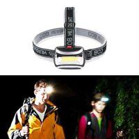 Rechargeable LED Frontale Lampe Torche Tête Lumière Lampe Phares Extérieur Chaud