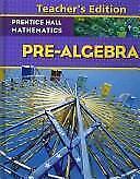 Prentice Hall Mathematics: Algebra 1 Pearson Education