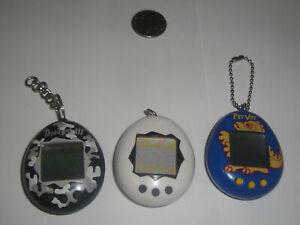 Tamagotchi Lot 1997 Bandai Working, not working, Pet Vet missing a couple pixels