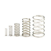 10X 0.4mm Wire Dia 304 Stainless Steel Compression Spring Pressure Small Spring
