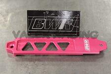 BLACKWORKS BWR BILLET BATTERY TIE DOWN - PINK - RSX CIVIC EP3 DC5 EM2