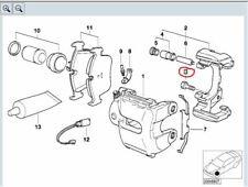 BMW Genuine Caliper / Carrier Collar Bolt Screw M12x1.5x32 ZNS3 34116772428